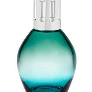 dirkx ovale bleu vert lampe berger